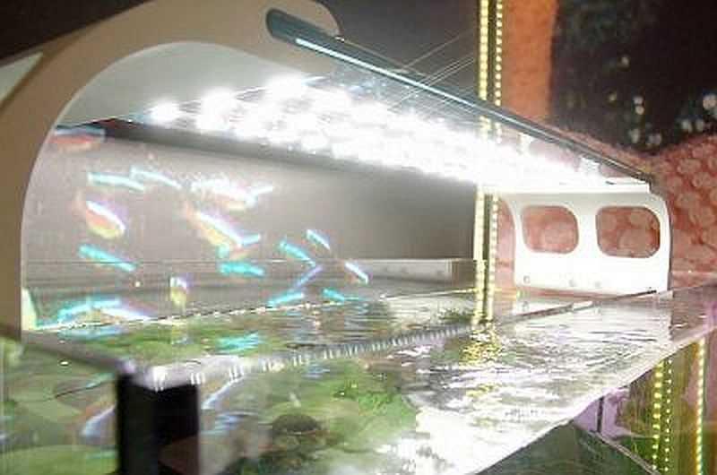 Как сделать освещение для аквариума своими 893