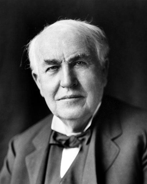 Томас Алва Эдисон - изобретатель фонографа