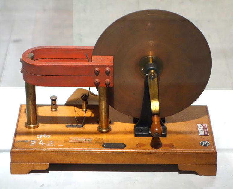 Майкл фарадей создатель учения об электромагнитном поле