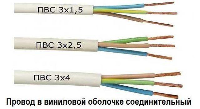Расшифровка маркировки провода ПВС
