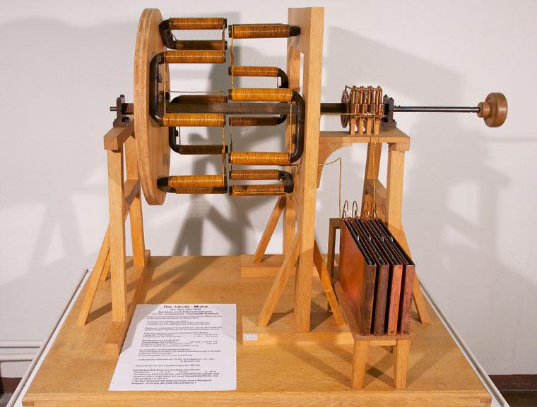 Двигатель Якоби (фото)