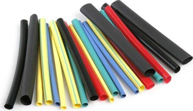 Термоусадочные трубки могут быть разных диаметров и цветов