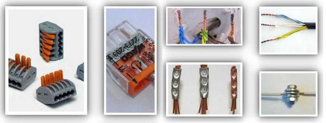 Не знаете как соединить два провода? Выбирайте наиболее подходящий способ