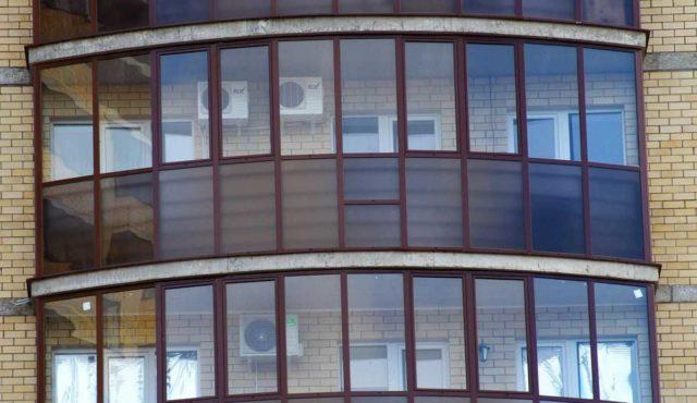 Монтаж на балконе - иногда единственный выход