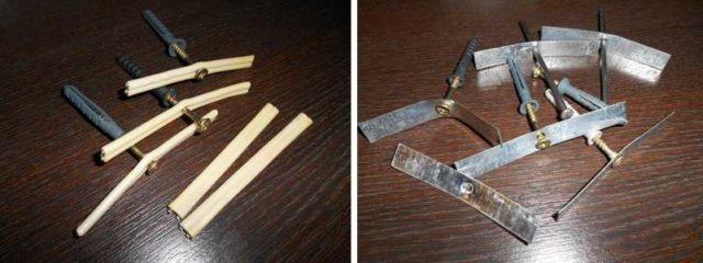 Самодельные держатели для кабелей