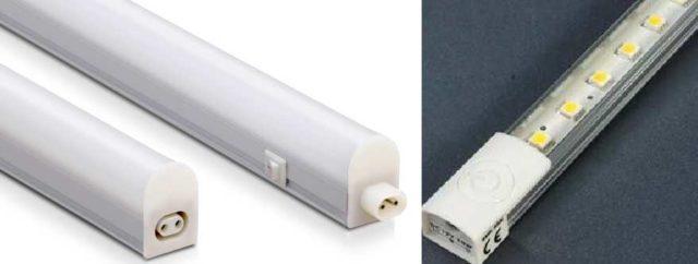 Очень удобно монтировать светодиодные линейные светильники модульного типа