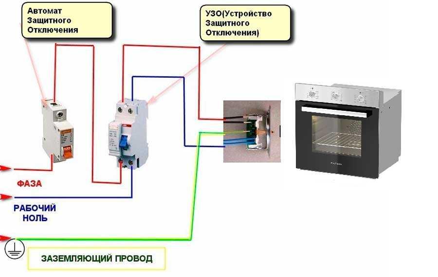 Схема подключения духового шкафа фото 138
