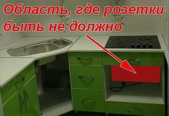 Многие говорят о том, что сзади духового шкафа устанавливать розетку нельзя