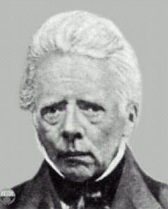 Датский физик Ханс Кристиан Эрстед (1777-1851)