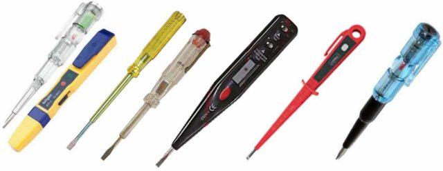 Индикаторные отвертки - недорогой, но полезный измерительный прибор