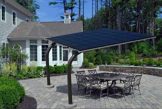 Уличное освещение на солнечных батареях: отличное место для размещения солнечных батарей