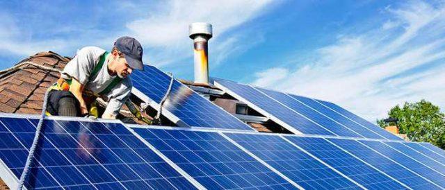 Для полного перевода уличного освещения на солнечную энергию требуется большое количество батарей...