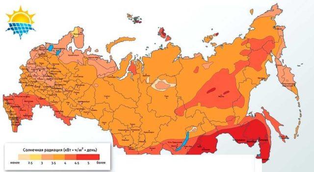 Чем больше солнечных дней в году в регионе, тем выгоднее переход на солнечную энергию