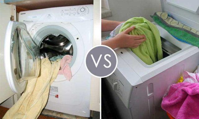 Какую выбрать стиральную машинку автомат - с вертикальной или фронтальной загрузкой...