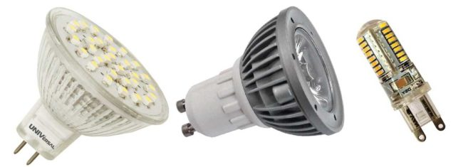 Светодиодные лампы есть для замены любого типа источников света