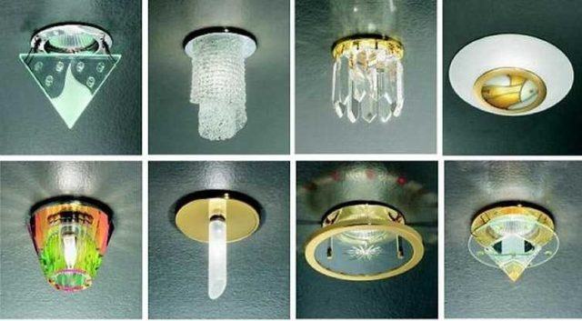 Точечные светильники не всегда незаметные