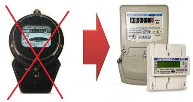Замена счетчика электроэнергии - мера часто вынужденная