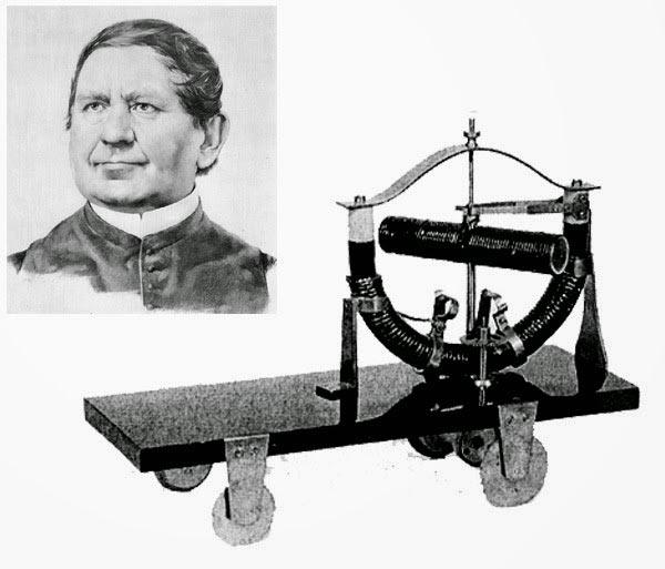 Аньош Иштван Йедлик (Jedlik István Ányos) и созданный им модель электромобиля