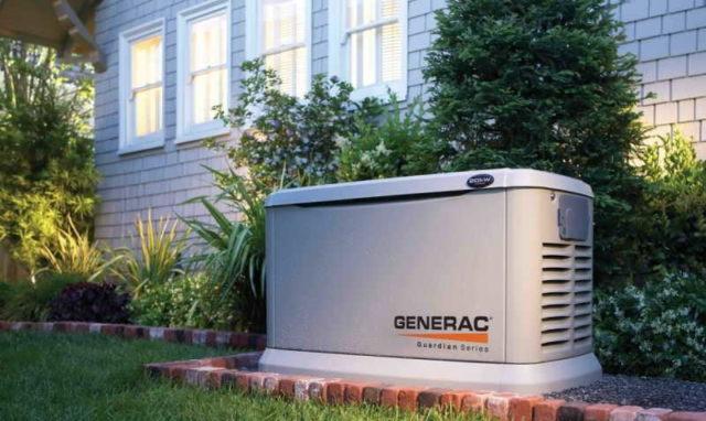 Дизельные генераторы могут быть очень большой мощности (Generac)