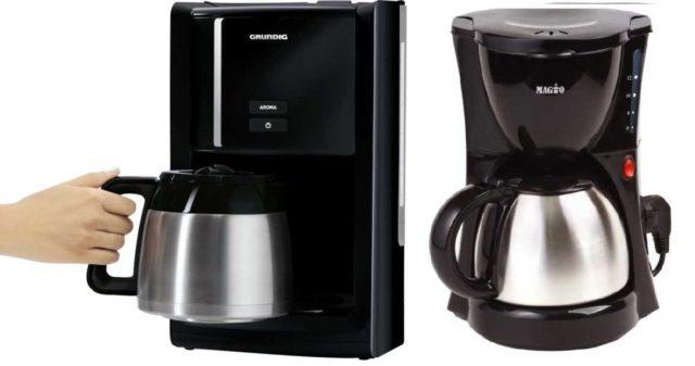 Капельная кофеварка для дома с колбой-термосом из нержавейки - это почти вечная вещь