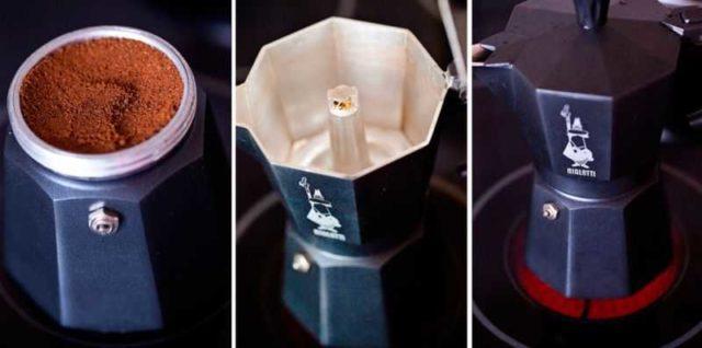 Как приготовить кофе в гейзерной кофеварке
