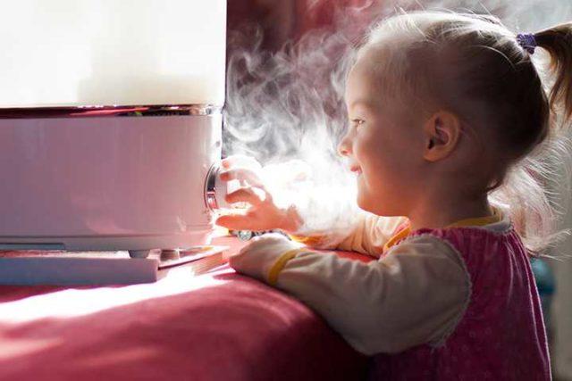 Безопасность увлажнителя воздуха для детей