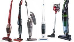 Вертикальные пылесосы бывают разные по типу уборки, мощности и еще куче параметров