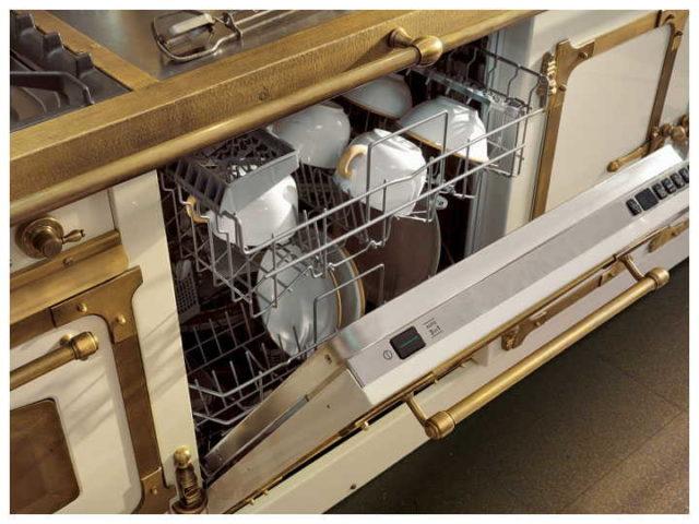 У полностью встраиваемых моделей панель управления находится на ребре дверки