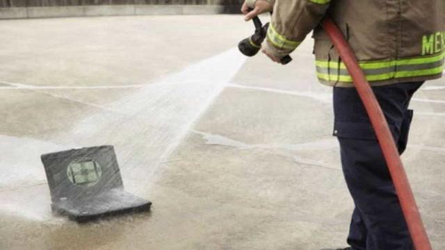 Пример проведения испытаний степени защиты от струй воды