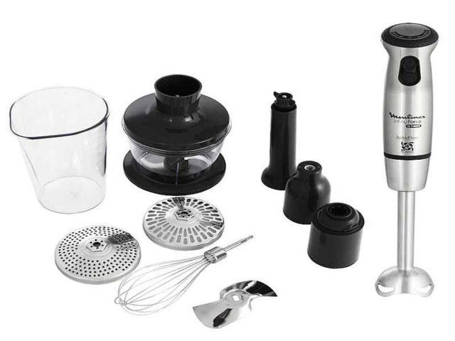 Ручной погружной блендер - небольшое устройство для измельчения разных объемов продуктов