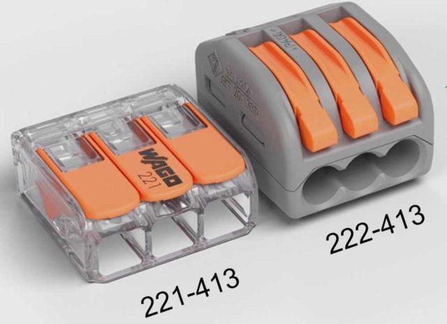 Универсальные компактные клеммы WAGO серии 221 более удобны по сравнению с 222