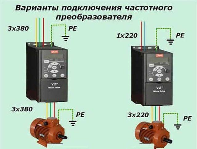 Частотный преобразователь для электродвигателя: подключение напрямую возможно не для всех двигателей