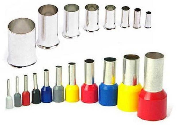 Гильзовые или втулочные наконечники - это отрезок тонкостенной трубки