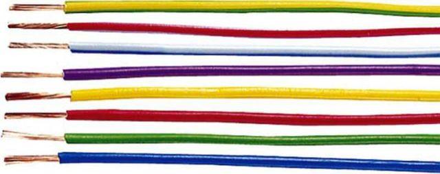 Провод ПВ 3 может иметь разную окраску