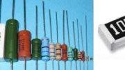 Внешний вид постоянных резисторов