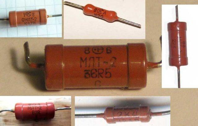 цветная маркировка резисторов таблица на 4 полосы
