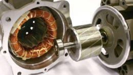 Так выглядит разобранный асинхронный двигатель с короткозамкнутым ротором
