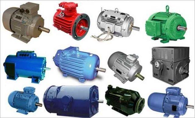 Электрические двигатели отличаются типом питания, устройством и назначением