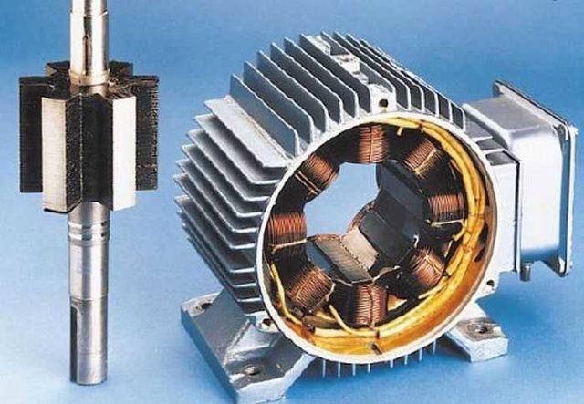 Конструкция вентильного безколлекторного электродвигателя