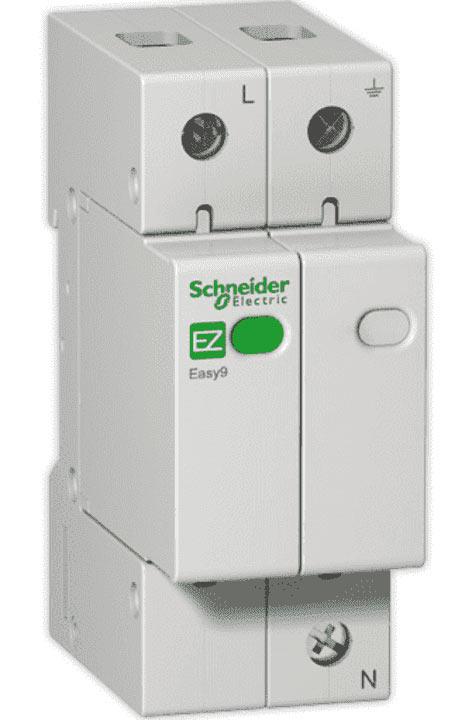 Устройство защиты от импульсных перенапряжений (УЗИП) EASY9 1П+H 20кА 230В