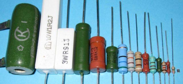 Как подобрать резистор: по номиналу и мощности