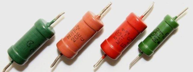Где не резисторе написана мощность