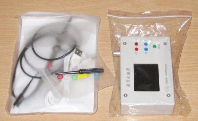 Маленький цифровой осциллограф