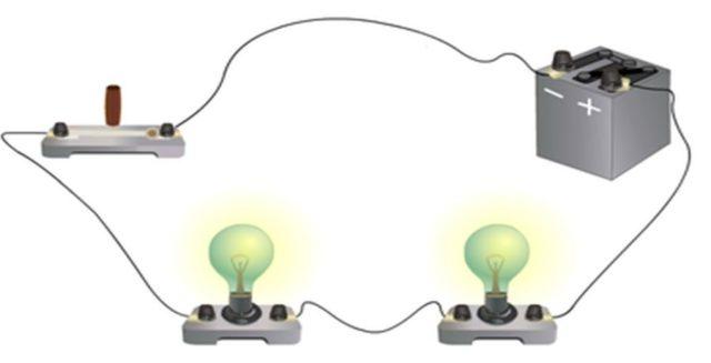 Иллюстрация последовательного соединения