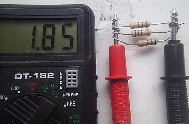 Применение последовательного и параллельного соединения резисторов