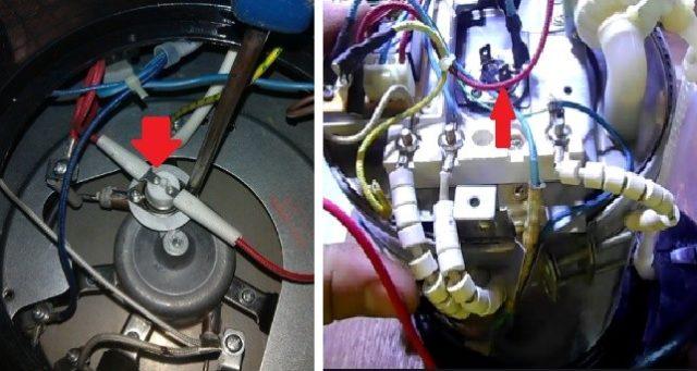 РЕмонт термопота своими руками: расположение датчика температуры