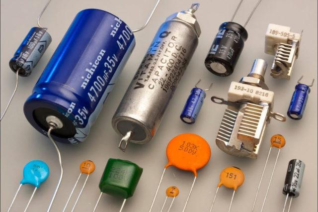 Так выглядит конденсатор