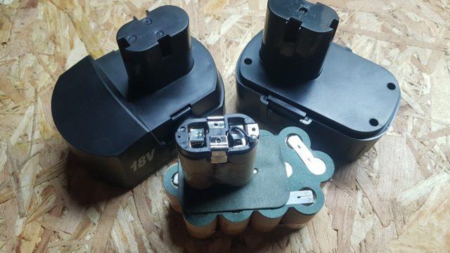 Оживление аккумулятора шуруповерта можно начать с пластин