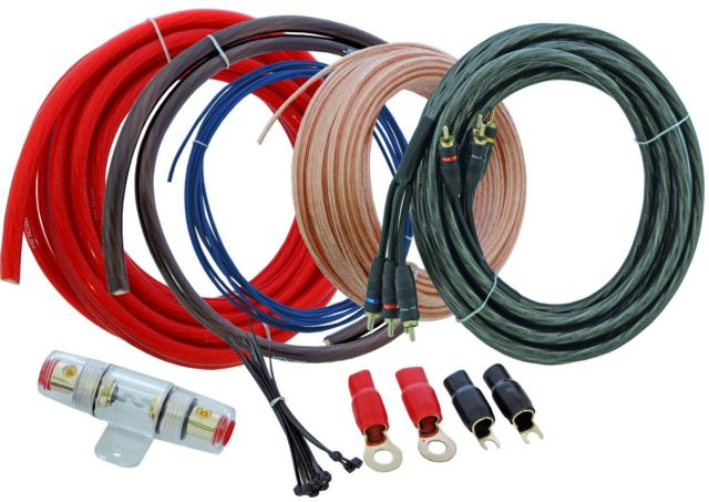 Какие кабели нужны чтобы подключить саб к магнитоле через усилитель