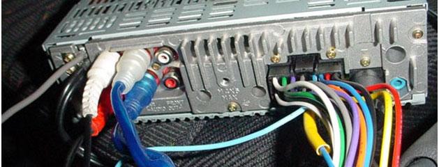 подключение сабвуфера к выходу автомагнитолы